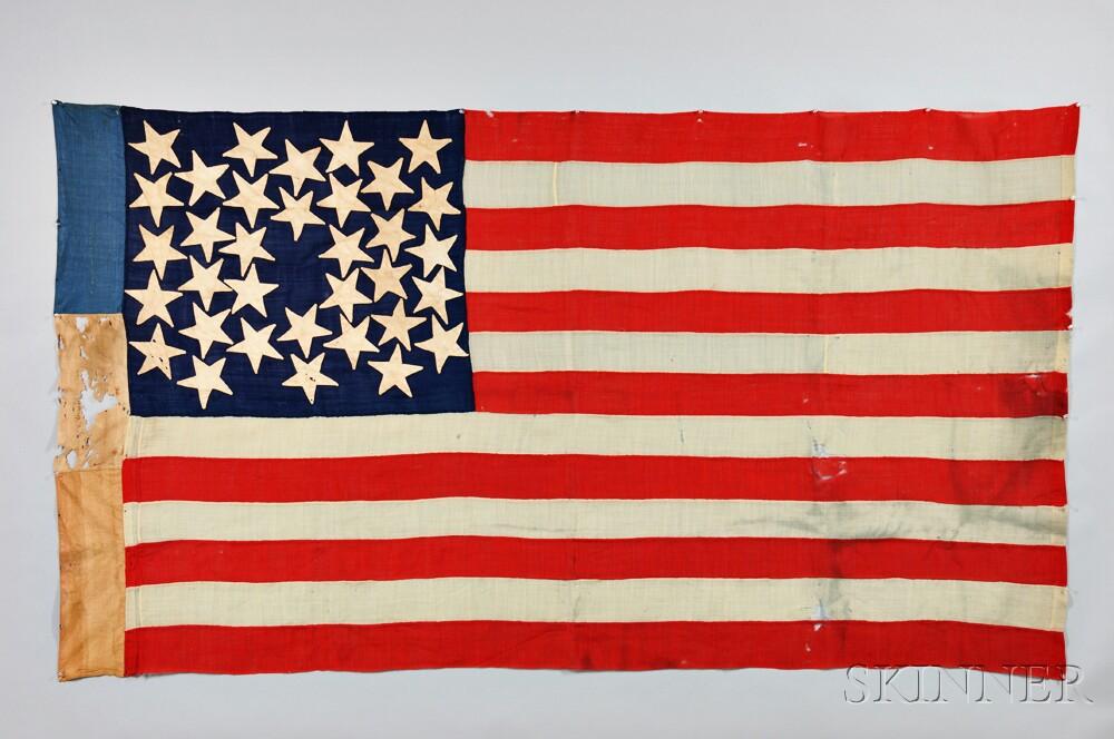 Thirty-four-star Flag of General J.K. Weaver