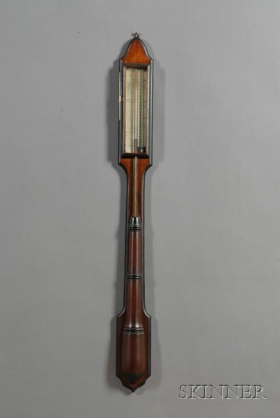 Walnut Stick Barometer
