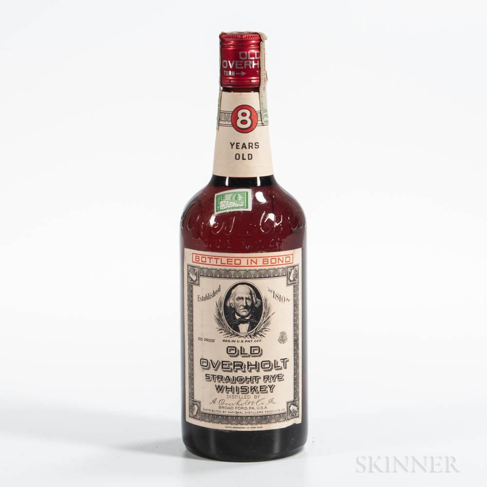Old Overholt 1951, 1 4/5 quart bottle