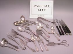 Sterling and Silver Plated Flatware
