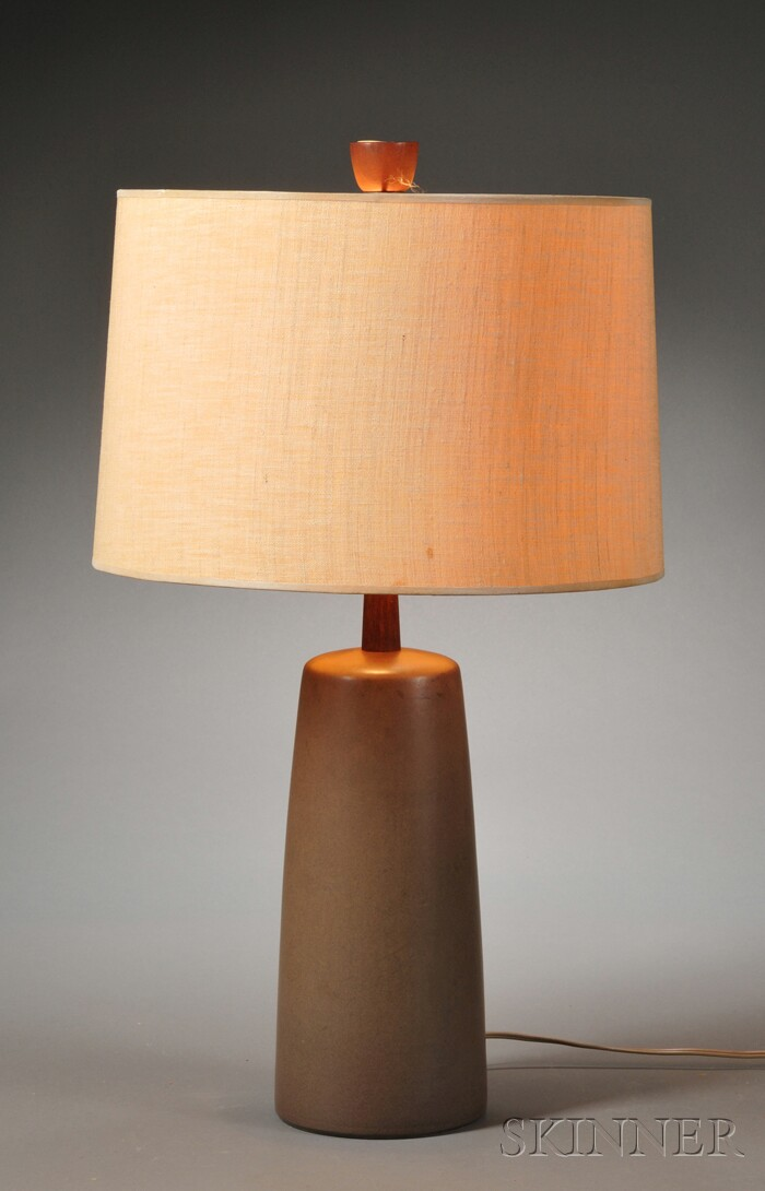 Mid-century Mantz Pottery Table Lamp