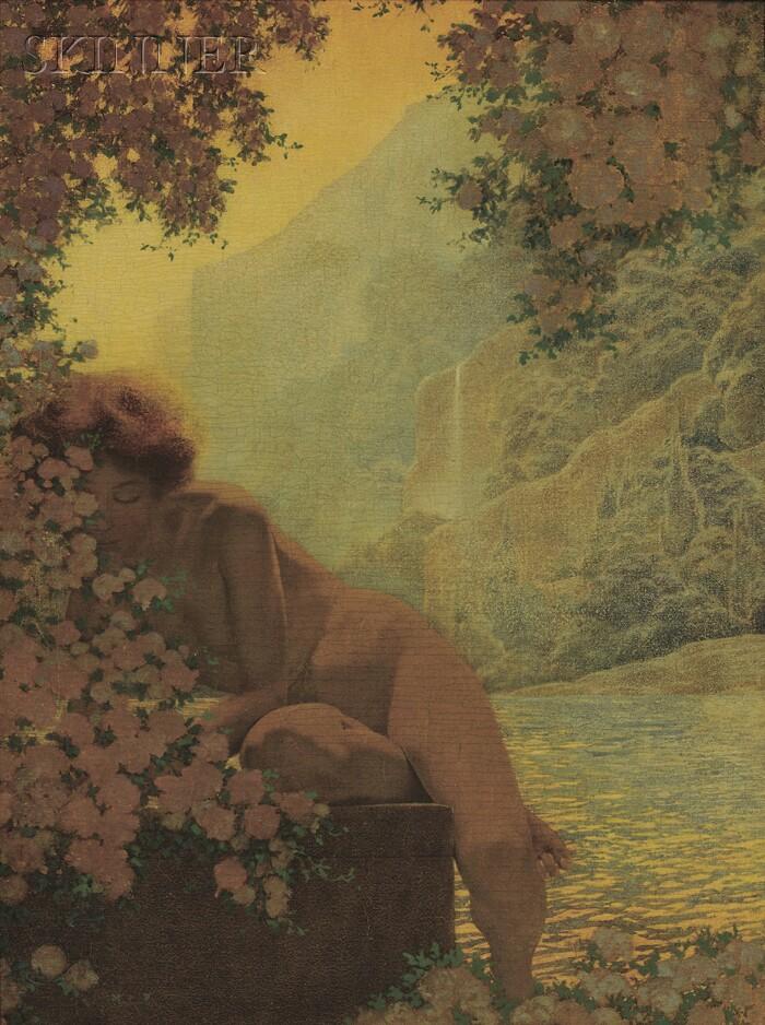 Maxfield Parrish (American, 1870-1966)      Summer