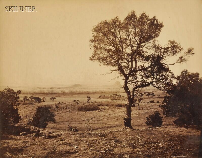 William Henry Jackson (American, 1843-1942)      The Spanish Peaks.