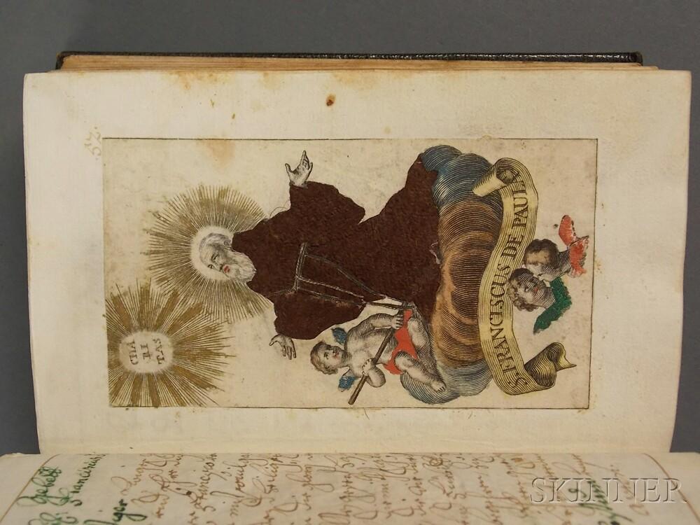 Manuscript on Paper, Prayer Book, German, 18th Century.