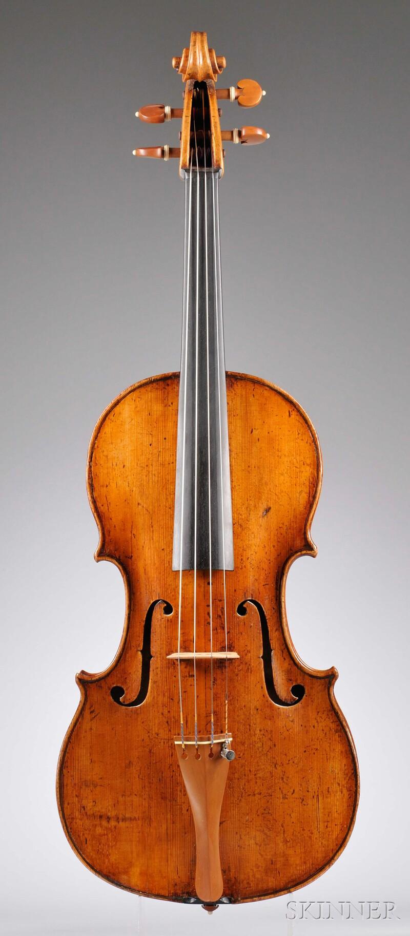 Italian Viola, Florentine School, Ascribed to Giovanni Battista Gabrielli, c. 1750