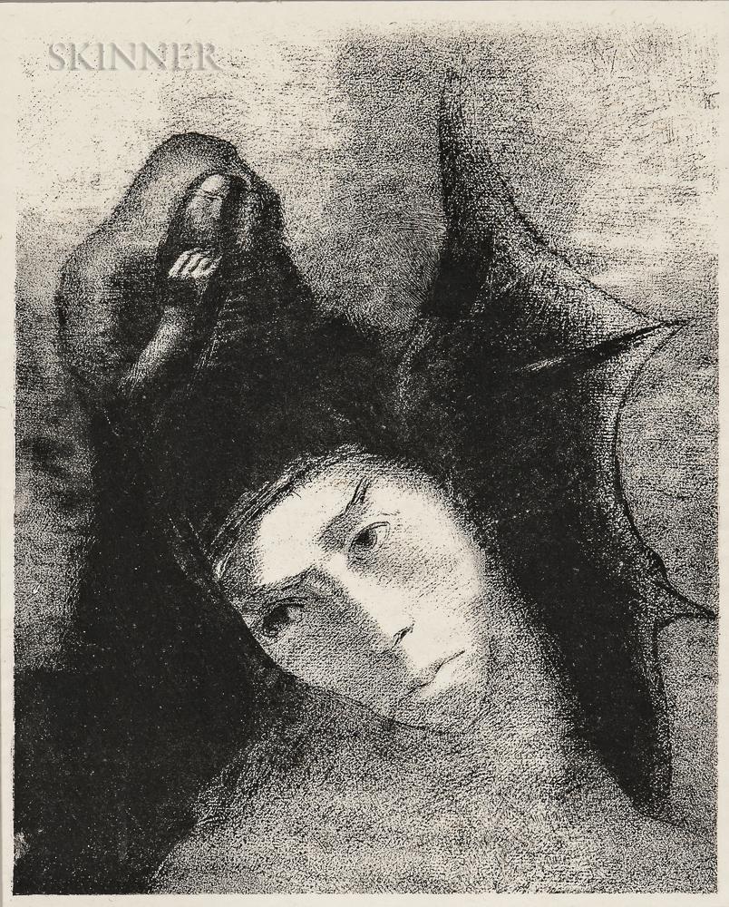 Odilon Redon (French, 1840-1916)      Quel est le but de tout cela?