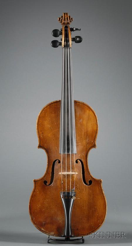 English Violin, Betts Workshop, London, c.1780