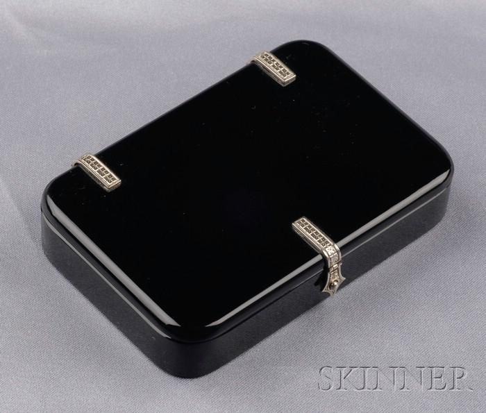 Art Deco Onyx Box