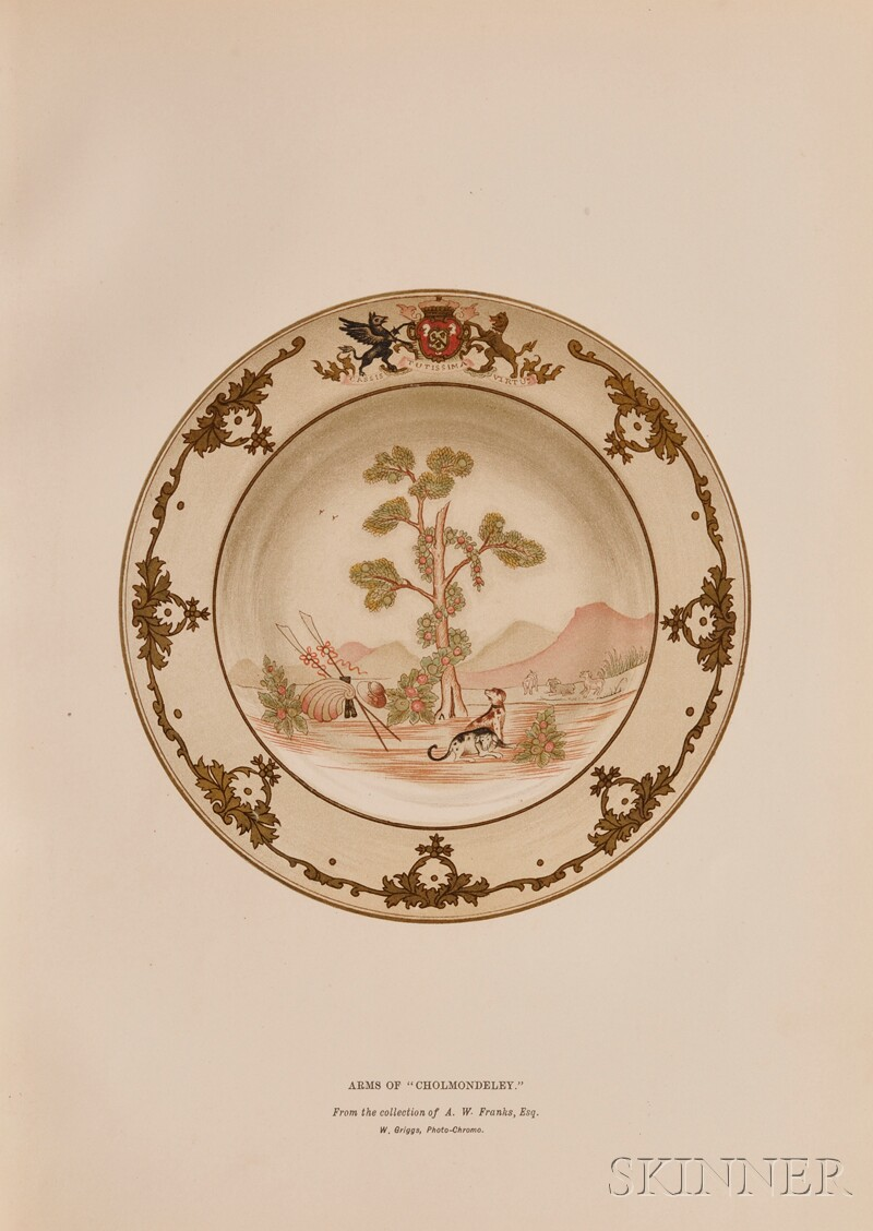 (Chinese Export Armorial Porcelain)