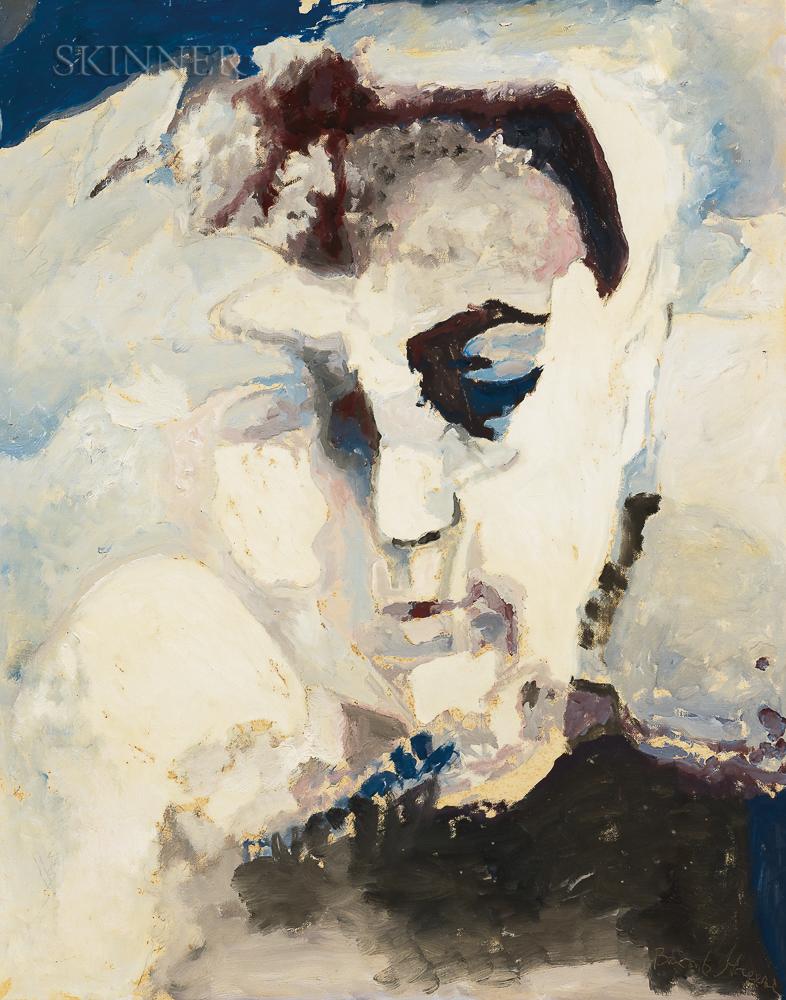 Balcomb Greene (American, 1904-1990)      Suzanne Waking