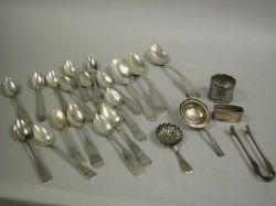 Sixteen Coin Silver Spoons