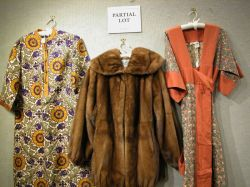 Ladys Mink Jacket and Three Ethnographic-style Womens Clothing Items.