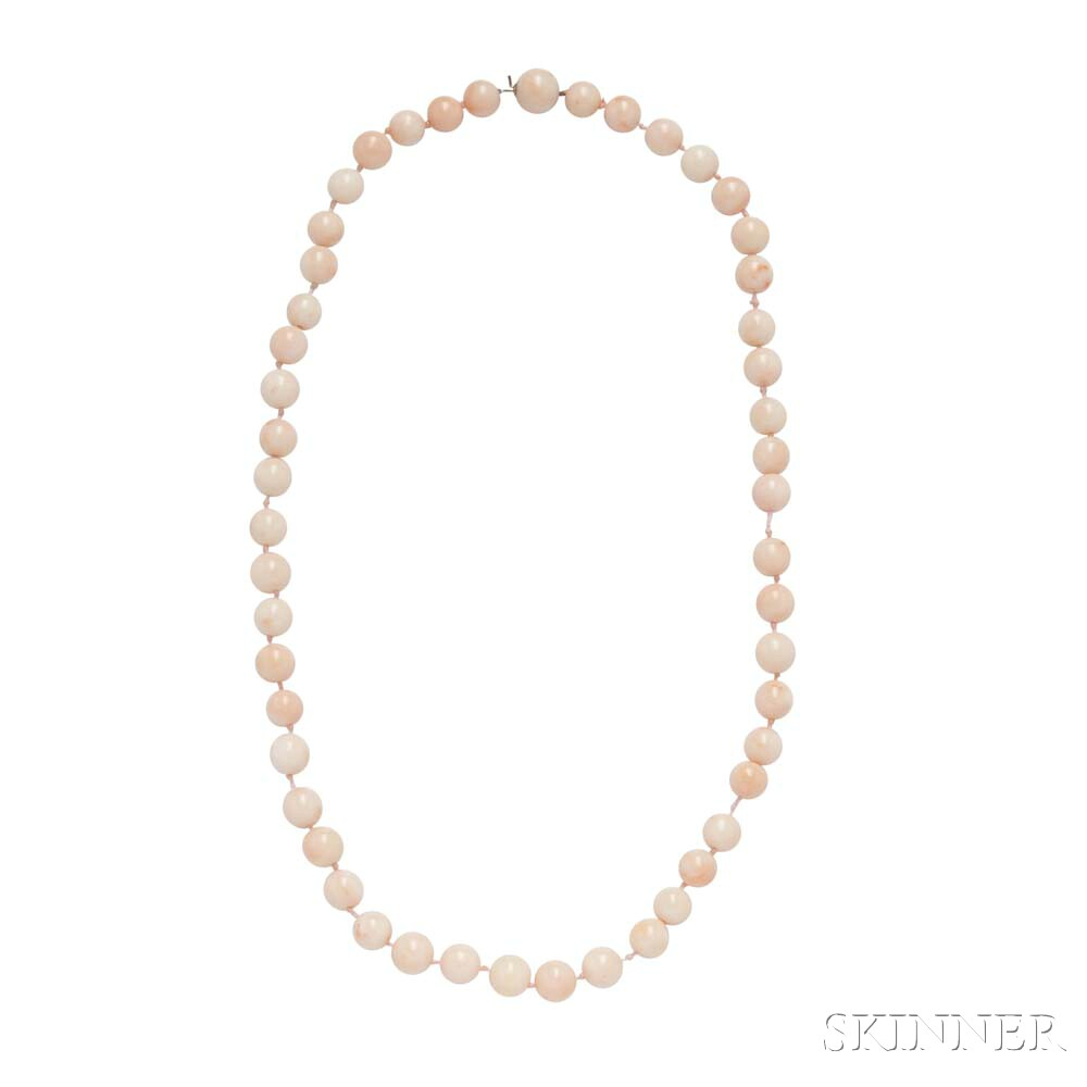 Angelskin Coral Necklace