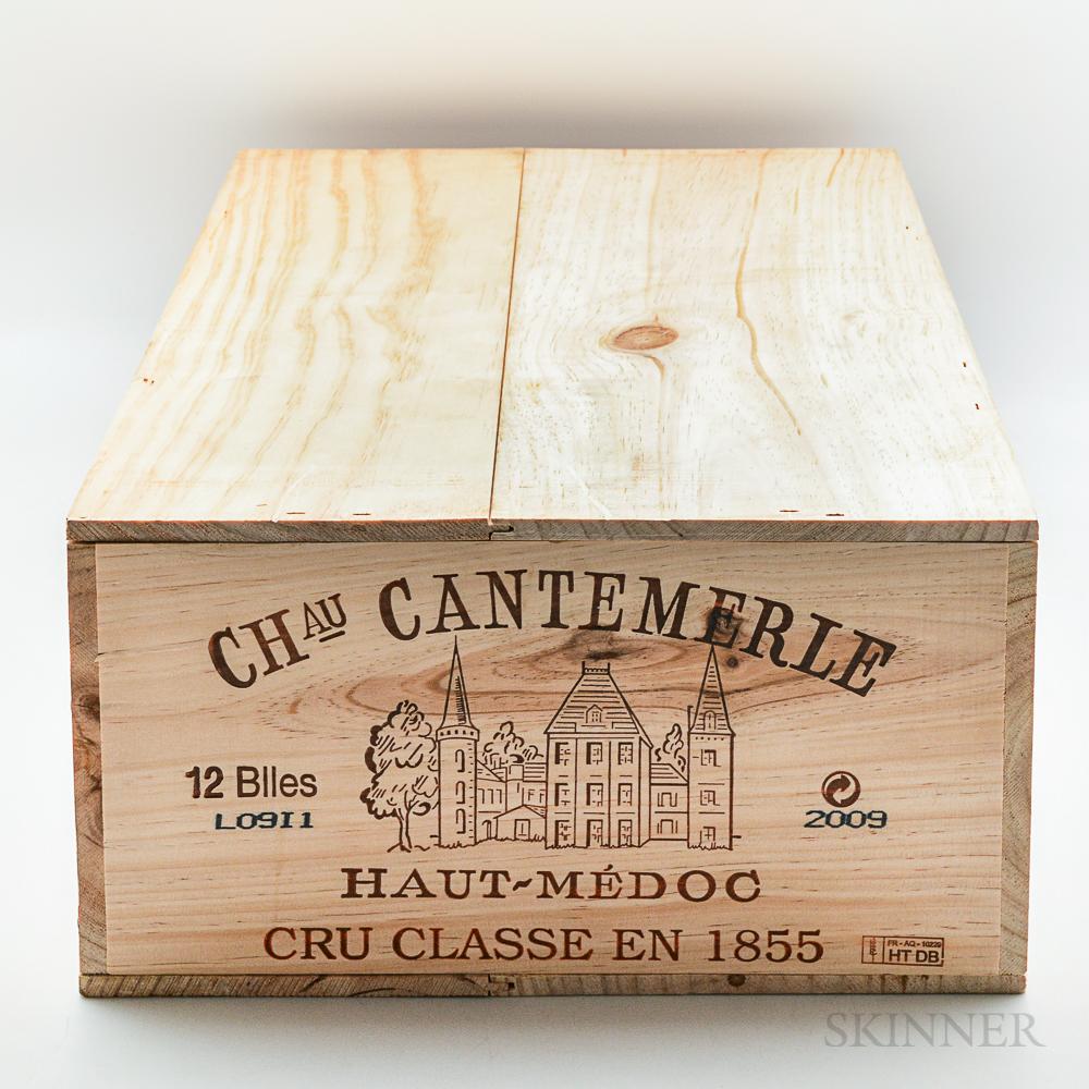 Chateau Cantemerle 2009, 12 bottles (owc)