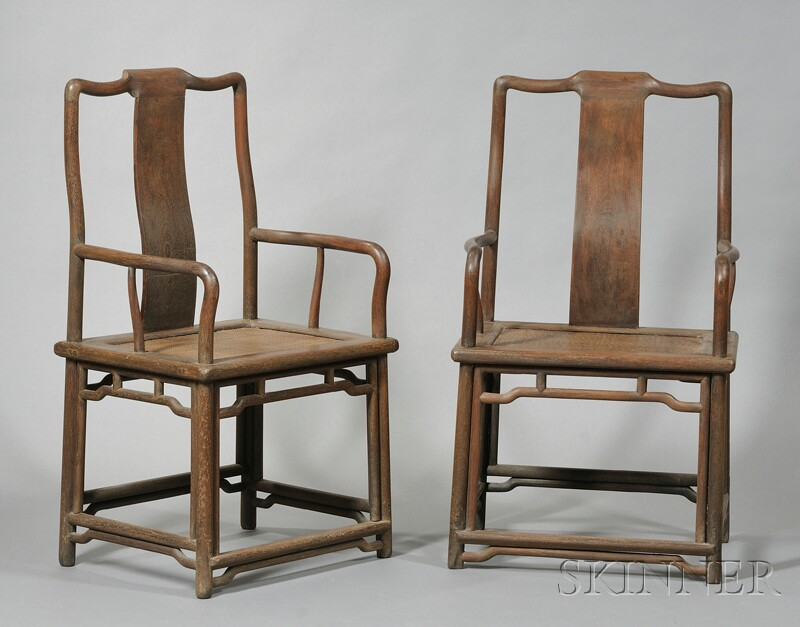 Pair of Tall-back Chairs