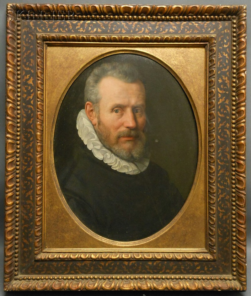 Continental School, 17th Century      Portrait of a Man in a Ruff