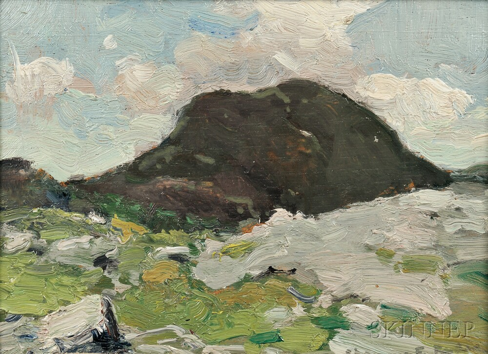 Chauncey Foster Ryder (American, 1868-1949)      Nose in Shadow, Mount Mansfield, Vermont