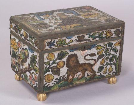 Elizabethan Beadwork Box