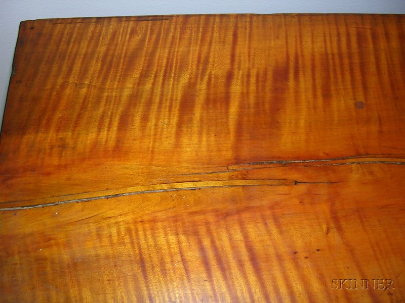 Federal Tiger Maple And Mahogany And Tiger Maple Veneer Sideboard Sale Number 2412 Lot Number