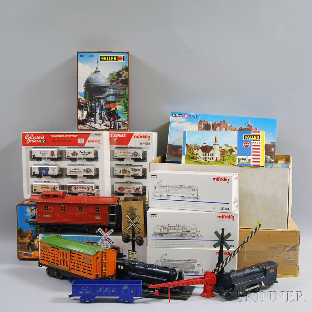 Model Train Supplies : Large group of model trains and accessories sale number
