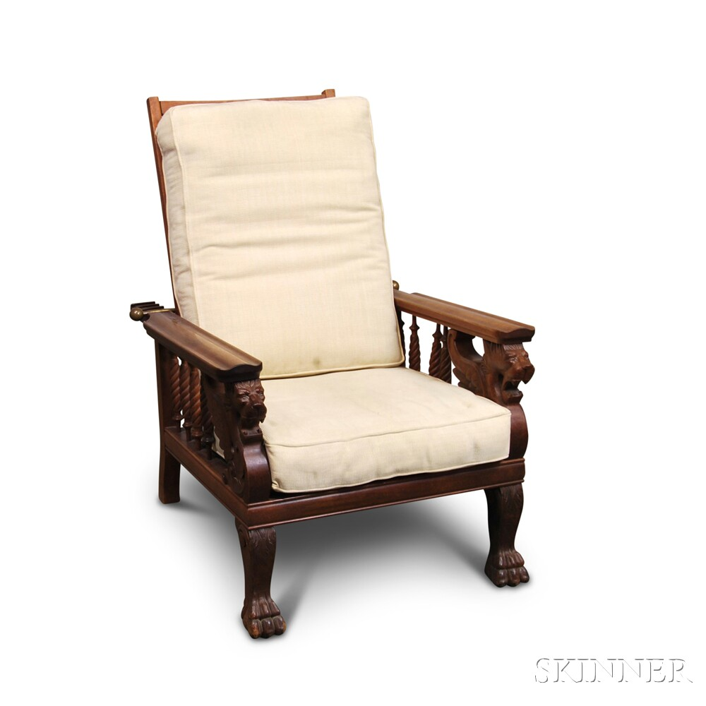Windsor-style Armchair and Morris Chair
