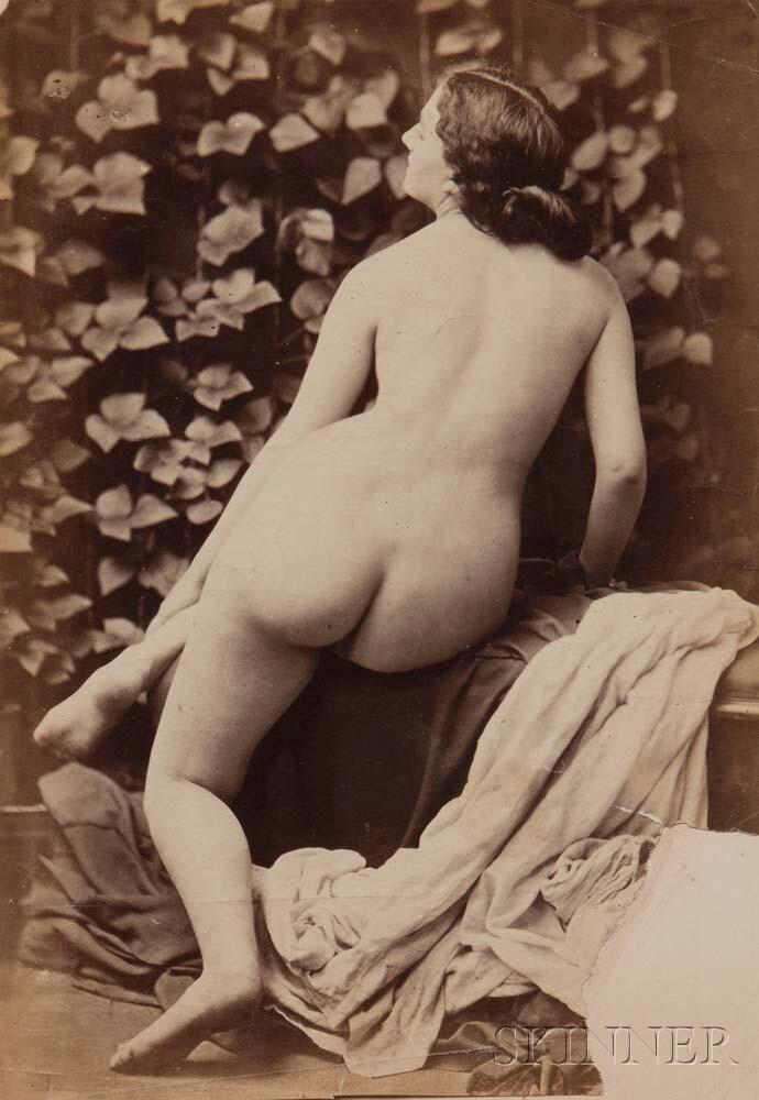 Oscar Gustave Rejlander (British, 1813-1875)      Nude Female Study