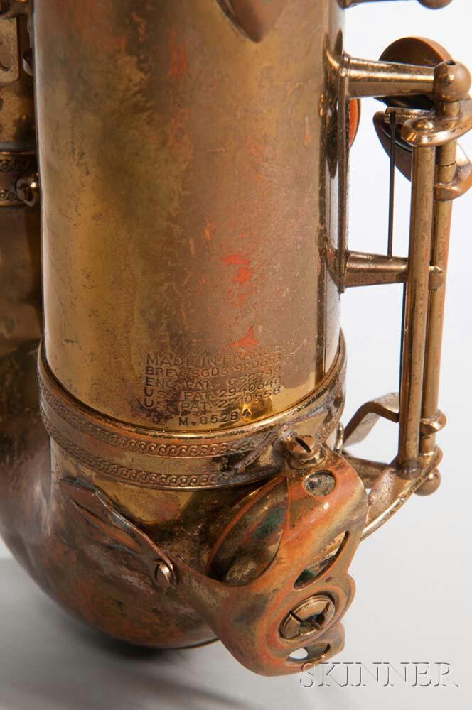 Tenor Saxophone, Selmer Mark VI, Paris, 1960
