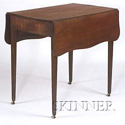 Federal Mahogany Inlaid Pembroke Table