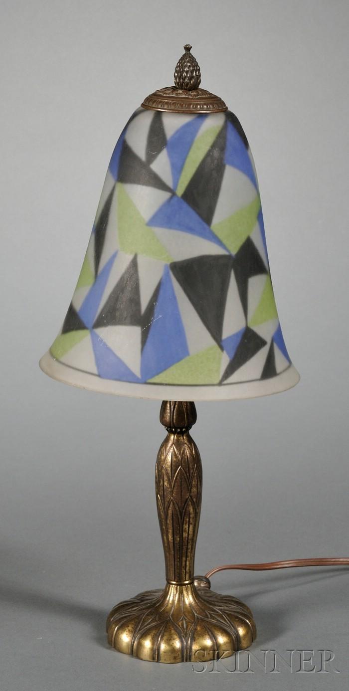 Art Deco Pairpoint Lamp