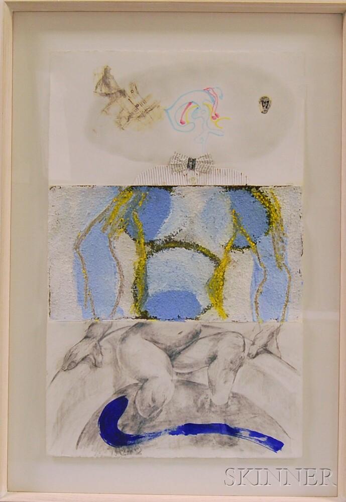 Cesar Trasobares (Cuban, b. 1949), Roberto Juarez (American, b. 1952), and Marilyn Gottlieb-Roberts (American, 20th/21st Century) Cadav