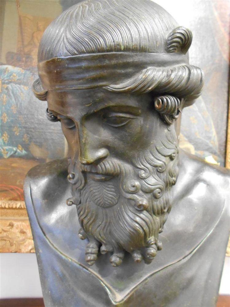 Bronze Bust of Zeus