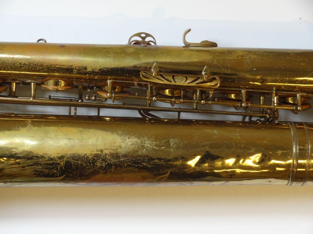 Baritone Saxophone, Selmer Mark VI, Paris, 1961
