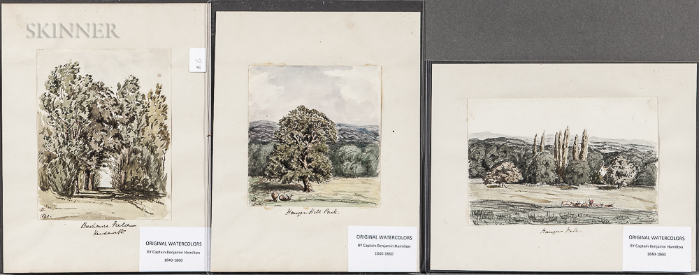 Captain Benjamin Hamilton (British, 19th Century)      Seven British Landscapes: