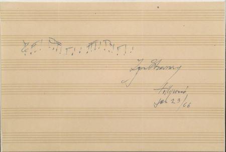 Stravinsky, Igor (1882-1971)
