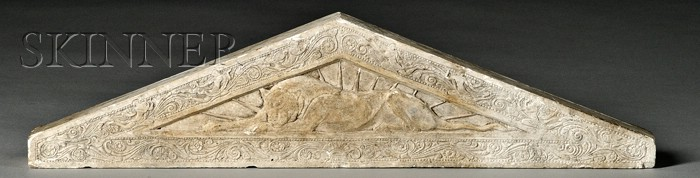 Paul Manship (American, 1885-1966) and Gaston Lachaise (American, 1882-1935)      Plaster Sketch-model for a Pediment, c. 1916