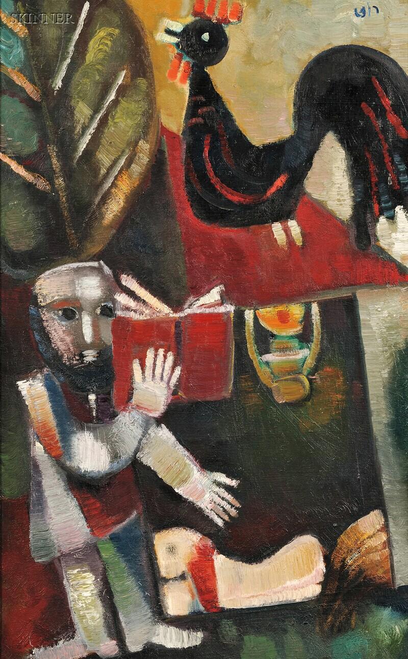 Leo Roth (Israeli, 1914-2002)      Morning Prayer