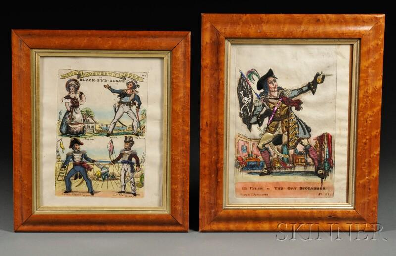 Five Tinsel Prints of Actors