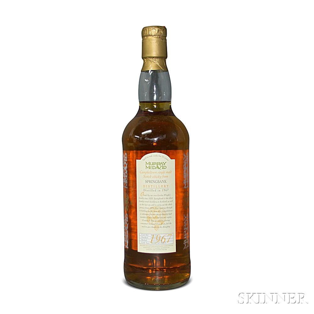Springbank 31 Years Old 1967, 1 750ml bottle