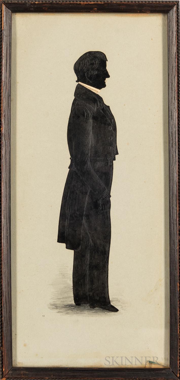 Full-length Silhouette Portrait of Thomas Goddard
