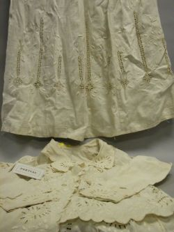 Group of Victorian Lady's Whitework Dresses, Outfits, Petticoats, Etc.