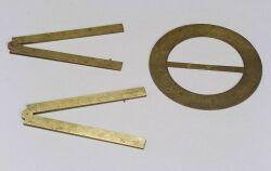 Three Brass Drawing Instruments