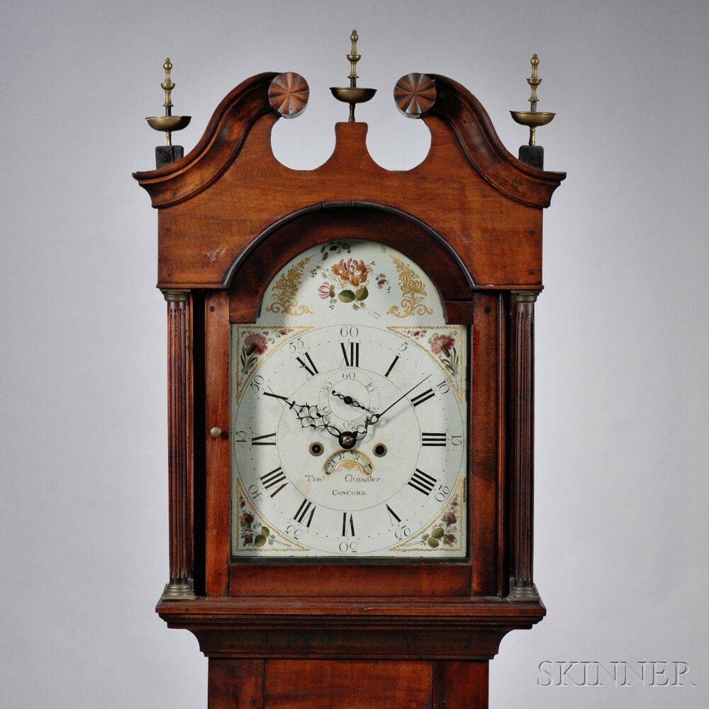 Timothy Chandler Cherry Tall Clock