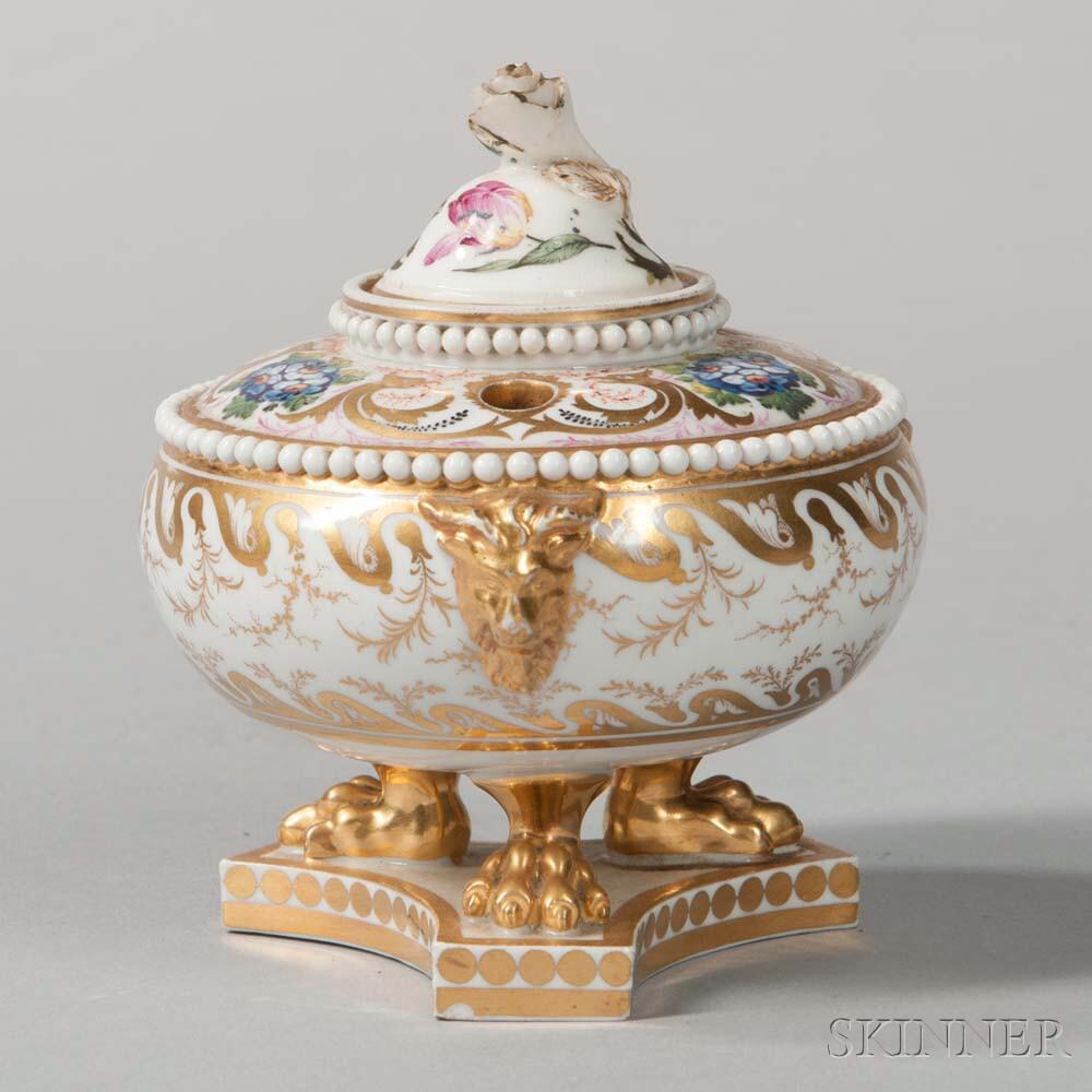 Barr, Flight & Barr Worcester Porcelain Inkstand