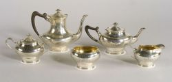 Towle Sterling Five Piece Tea and Coffee Service