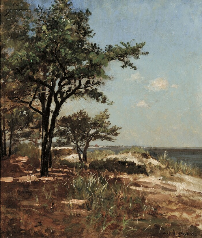 Joseph Lyman (American, 1843-1913)      Pines and Shore