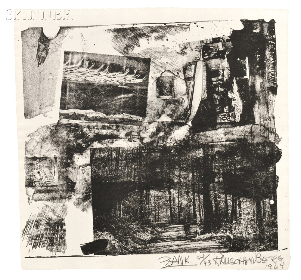 Robert Rauschenberg (American, 1925-2008)      Twelve Works from XXXIV DRAWINGS FOR DANTE'S INFERNO