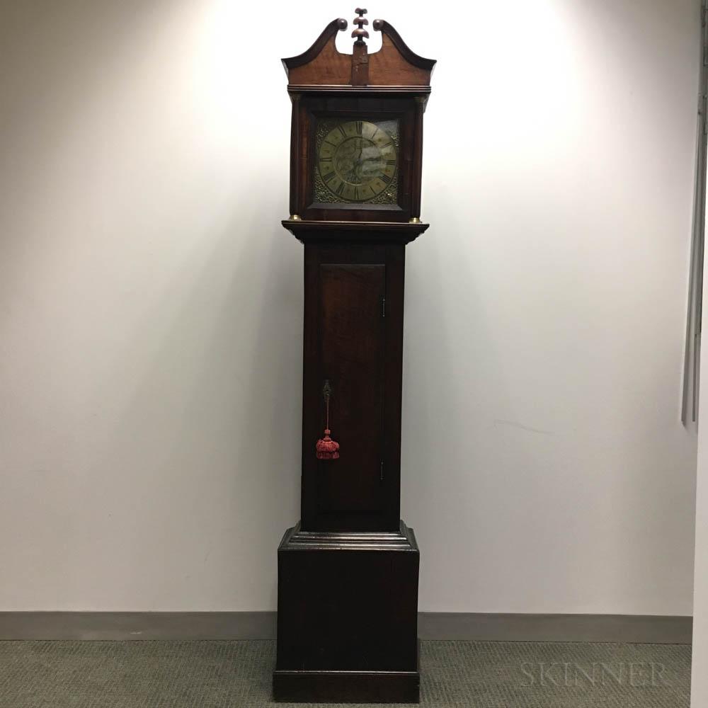 Oak Tall Case Clock