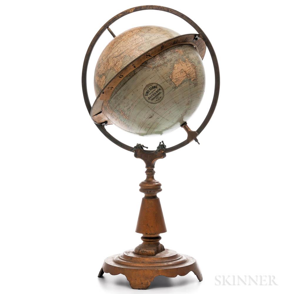 Unusual Juvet & Co. Relative Time Globe