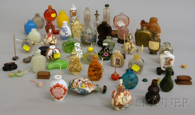 Collection of Chinese and Asian Snuff Bottles