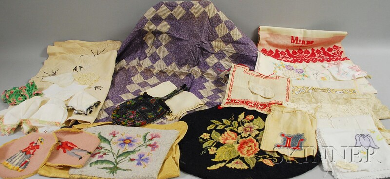 Large Group of Assorted Continental Textiles and Garments